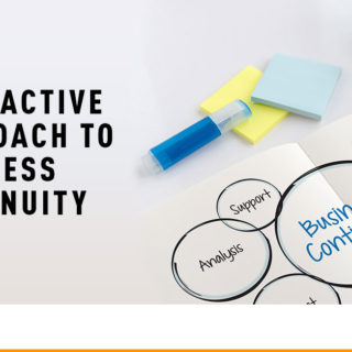 Business Continuity - Banner Image for A Proactive Approach to Business Continuity Blog