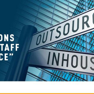 "Outsource and Inhouse Road Signs - Banner Image for Top 5 Reasons to ""Staff Source"" Blog"