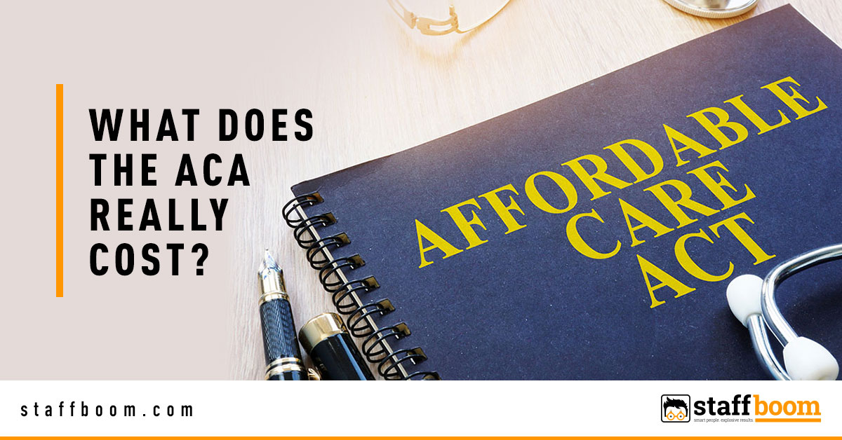 Affordable Care Act Book on Table - Banner Image for What Does The ACA Really Cost Blog
