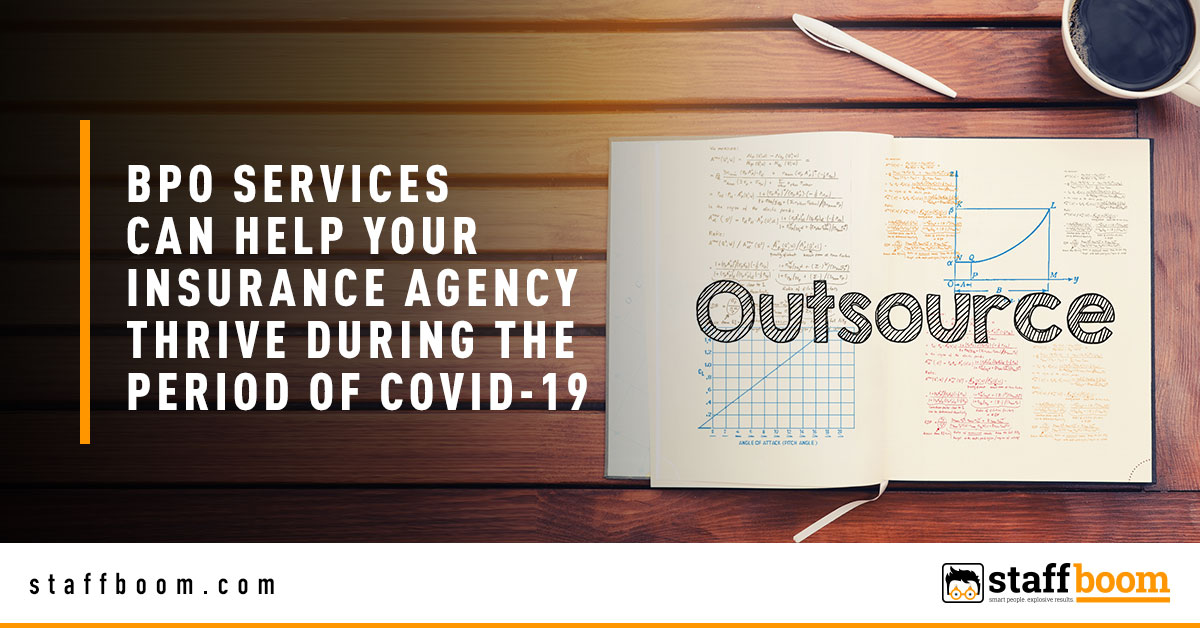 Outsource - Banner Image for BPO Services Can Help Your Insurance Agency Thrive During the Period of COVID-19 Blog