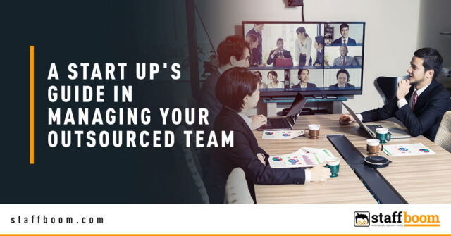 Team On Meeting - Banner Image for A Start Up's Guide in Managing Your Outsourced Team Blog